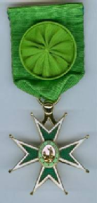 Officer's insignia, Order of St. Lazarus of Jerusalem