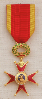 Knight's insignia, Order of St. Gregory the Great