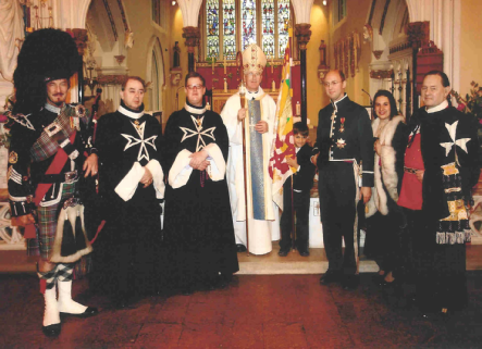 Papal Knight's investiture, London
